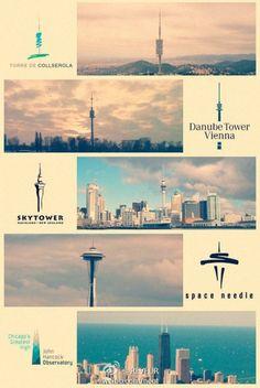Landmark building logos from around the world   CreativeRoots - Art and de...