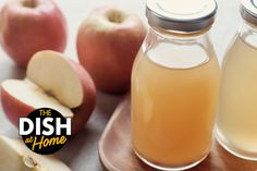 Gail Simmons' DIY Apple Cider Vinegar - The Dr. Oz Show Apple Cider Donuts, Apple Cider Vinegar, Fruit Recipes, Snack Recipes, Desert Recipes, Delicious Recipes, Fun Drinks, Healthy Drinks, Bon Appetit