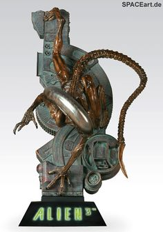 Alien 3: Alien 3 Diorama, Fertig-Modell ... http://spaceart.de/produkte/al135.php