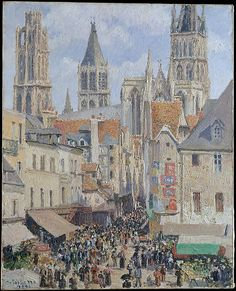 Artist: Camille Pissarro (French, Charlotte Amalie, Saint Thomas 1830–1903 Paris) Date: 1898 Medium: Oil on canvas Dimensions: 32 x 25 5/8 in. (81.3 x 65.1 cm) Classification: Paintings