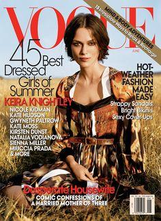 Keira Knightley by Arthur Elgort Vogue US June 2007