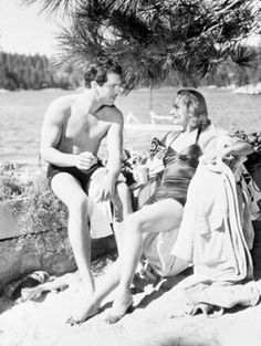 Fred McMurray & Carole Lombard