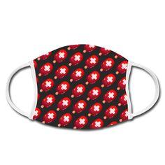 Schutzmaske mit Schweizer Glace Muster für coole Schweizer.#Gesichtsmaske #Schutzmaske #Glace #Schweiz Belt, Accessories, Fashion, Dark Backgrounds, Protective Mask, Swiss Guard, Patterns, Belts, Moda