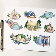 Have you guys heard about camping? It's in-tents!!