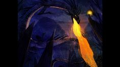 Dragon illustration process