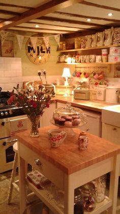 Vintage Landhausküche - #Landhausküche #landhausstil #Vintage