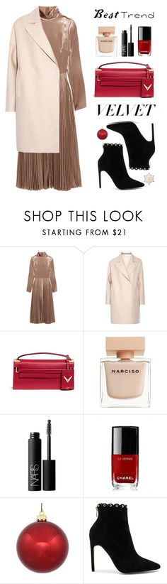 """""""Best Trend of 2016"""" by mada-malureanu ❤ liked on Polyvore featuring Valentino, Harris Wharf London, Narciso Rodriguez, NARS Cosmetics, Chanel, GE, Raye, velvet, polyvoreeditorial and besttrend2016"""