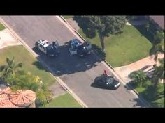 Southern California Police Chase Black Mercedes-Benz