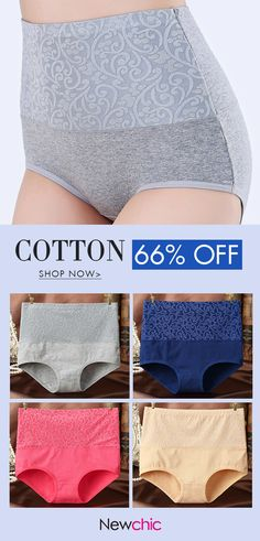 48b201f0b68 Plus Size Cotton Belly Control Panties - Only for You Plus Size Lingerie