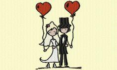 des jeunes mariés - Lagrangeauxloups