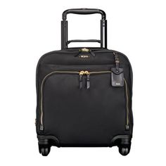 TUMI Black Voyageur Oslo 4 Wheeled Compact Carry-On