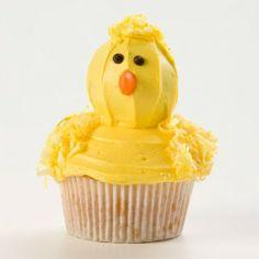 Chick Cupcakes Recipe - Holidays
