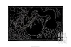 Untitled, 1988 Giclee Print by Keith Haring at Art.com
