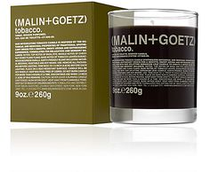Malin+Goetz Tobacco Candle -  - Barneys.com