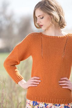 Ravelry: Caldwell Pullover pattern by Courtney Spainhower