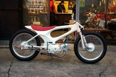 CONE CUSTOM CYCLES # Honda Super Cub