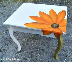 for small silver table.