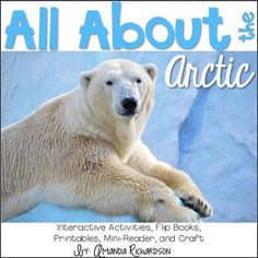 This Arctic Animals unit is perfect for teaching your little ones all about the Arctic and the animals found there! It is filled with activities for your students--graphic organizers, an interactive reader, reindeer vocabulary, real images, and much more--to learn all about the Arctic! Perfect for the K-2 learner!