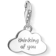 Thomas Sabo Silver Thinking Of You Cloud Charm 1364-001-12  #ThomasSabo #CharmClub #Cloud