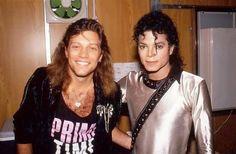 Jon Bon Jovi e Michael Jackson