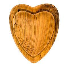 Sunshine Tienda Olivewood Heart Serving Plate Set -- For more information, visit image link.