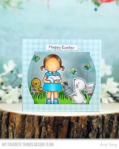Hello and welcome to My Favorite Things March Release Countdown Day Three.   For today, I used the Pure Innocence Somebunny Sweet and Ho...