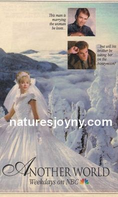 AW Grant and Vicky wed Nbc Tv, Another World, Wedding Gowns, Opera, Weddings, Soaps, Nature, Movie Posters, Beautiful