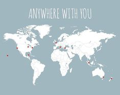 Dont let those cherished travel memories fade! Record your USA trips with this DIY travel map. Includes 50 mini red heart stickers. Its the