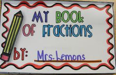 Oh my goodness!  It's all kinds of cutesy fraction stuff -like ice cream sundaes and pizzas- but I think I like the fraction book the best.