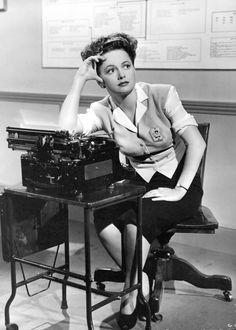 Olivia de Havilland in GOVERNMENT GIRL ('43)