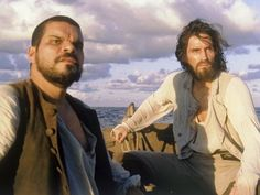 Jacopo (Luis Guzman) and Edmond Dantes (Jim Caviezel) in The Count of Monte Cristo
