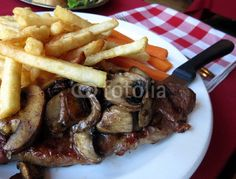 Steak and Mushroom Dinner