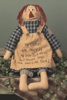 Mamas Best Raggedy Doll by rustic-country, via Flickr