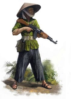 """Vietnamese guerilla"", Milek Jakubiec"
