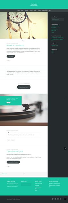 Blatantly: A Versatile Theme #wordpress #theme #template #webdesign #webpage #website #site #design #html #css #blog #responsive #mobile #flexible #fluid #retina #flat #flatui #flatdesign #photography #photo #portfolio #creative #gallery #photoblog #shortcode #webfont
