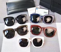 Korea Fashion Women Big Frame Sunglasses Classic Brand MATTI Designer Rivet Shades Flat Top Oversize Shield Shape Glasses UV400