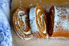 Thanksgiving Pumpkin Cake Roll | Gluten Free on a Shoestring
