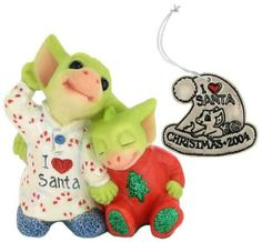 """Listening for Santa"" with Metal Ornament"