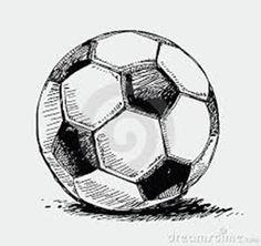 Photos, illustrations et art vectoriel - Soccer ball drawing Tattoo Futbol, Soccer Tattoos, New Tattoos, Play Soccer, Soccer Ball, Sports Drawings, Ball Drawing, Soccer Skills, Tattoo Project