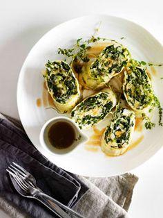 Rotolo di pasta ripieno - add whatever filling you like! Gourmet Traveller