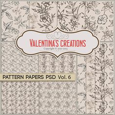 http://www.valentinascreations.com/Pattern-Papers-PSD-Vol.-6.html