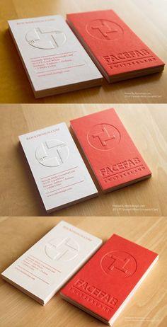 15 beautiful business cards with a letterpress finish Business Card Design Inspiration, Business Design, Corporate Design, Stationery Design, Branding Design, Identity Branding, Brochure Design, Visual Identity, Name Card Design
