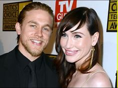 Charlie Hunnam's Girlfriend Dishes Out Her Relationship Advice - YouTube