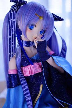 Beautiful Anime Girl, Beautiful Dolls, Girl Dolls, Bjd Dolls, Moe Anime, Cute Cartoon Girl, Cute Baby Dolls, Girly Drawings, Human Poses