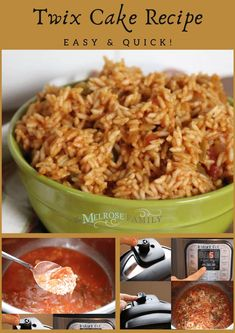 Simple dump and go Mexican rice dish. Add ingredients, set the Instant Pot, and enjoy.  #themelrosefamily #instantpotmexicanrice #instantpotmexican #instantpot #mexicanrice #newrecipe #healthytreat #healthyrecipe #healthymeal #buzzfeedfood  #tastytasty #todayfood