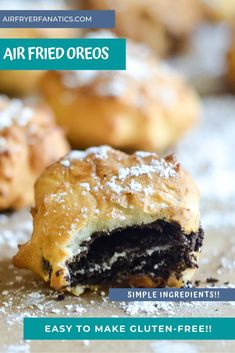 Get ready to make these great easy air fried oreos, they can even be made gluten-free too with a few simple swaps, check out this tasty air fried dessert!
