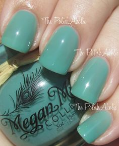 The PolishAholic: Megan Miller Collection Caribbean, Coral Bliss and Lemon Ice!