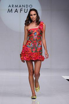 Viva México Armando Mafud Mixican Designer Mexican Fashion Style Textiles Mexicanos