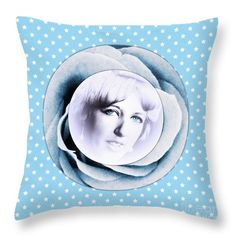 """Face Of A Rose 2 Throw Pillow by Joan-Violet Stretch.  Our throw pillows are made from 100% spun polyester poplin fabric and add a stylish statement to any room.  Pillows are available in sizes from 14"""" x 14"""" up to 26"""" x 26"""".  Each pillow is printed on both sides (same image) and includes a concealed zipper and removable insert (if selected) for easy cleaning."""