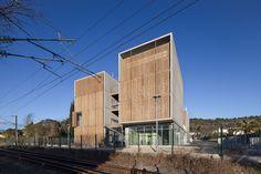 Galeria de Habitação Social + Lojas em Mouans Sartoux / COMTE et VOLLENWEIDER Architectes - 9